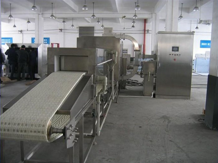 Industrial Microwave Frozen Seafood Thawing Machine