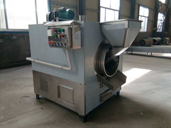 Small Capacity Drum Nut Roaster Machine