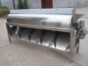 Stainless steel cashew nut grading machine