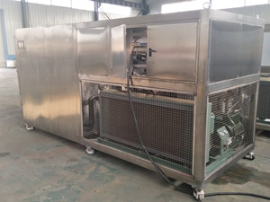 Vacuum freeze drying machine for apples